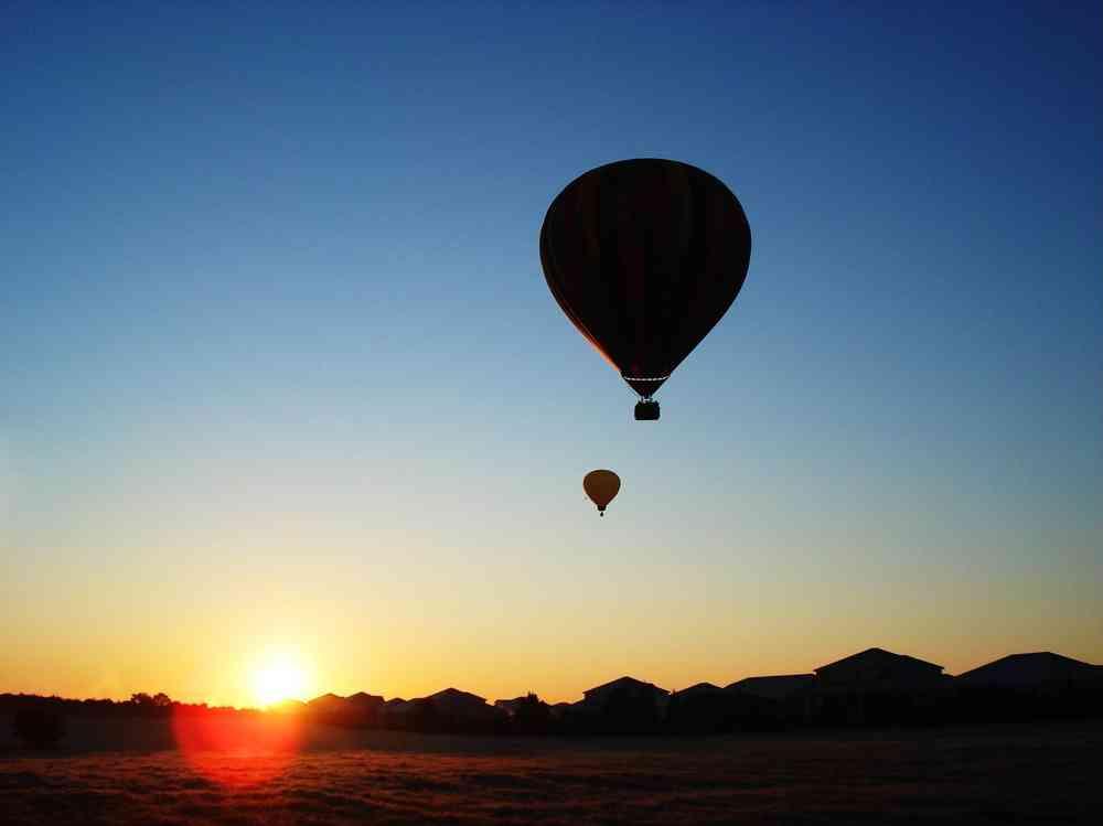 Heißluftballon frankfurt
